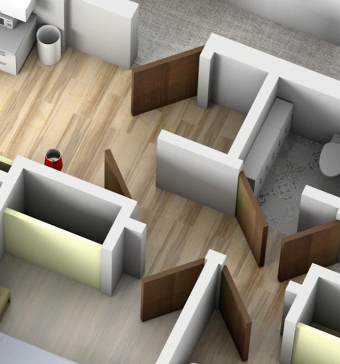 Privatbereiche: Wohnräume