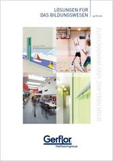 Bodenbeläge und Wandschutz für Bildungsstätten - Broschüre