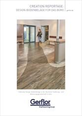 Creation Design-Bodenbeläge für das Büro - Broschüre