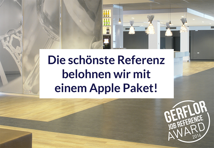 Gerflor Job Reference Award 2016 De