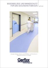 Bodenbeläge und Wandschutz für das Gesundheitswesen - Broschüre