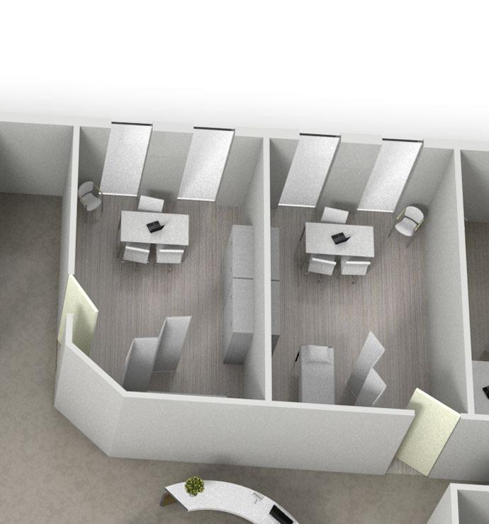 Untersuchungs- und Behandlungsräume
